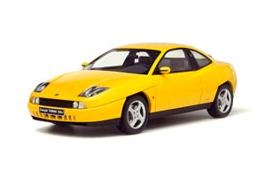 FIAT COUPE TURBO 20V 1995 YELLOW LIMITED EDITION 999 PCS.