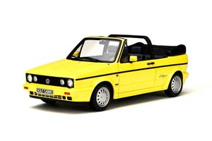 VW VOLKSWAGEN GOLF 1 CABRIOLET YOUNG LINE 1991 YELLOW