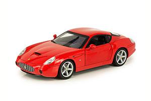 FERRARI 575 GTZ ZAGATO FOUNDATION SERIES WITH CHROME RIMS 2006 RED