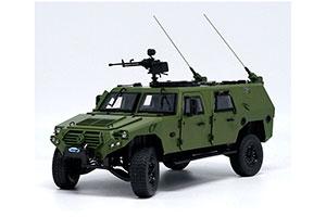 WARRIOR 70TH ANNIVERSARY PARADE SUV MILITARY ARMORED CAR 2019 GREEN #N/A
