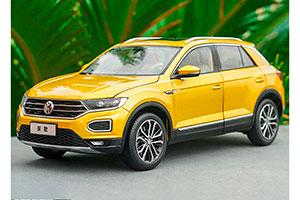 VW VOLKSWAGEN T-ROC 280STI 2018 YELLOW