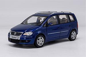 VW VOLKSWAGEN TOURAN 2009 BLUE