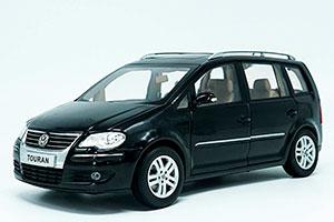 VW VOLKSWAGEN TOURAN 2009 BLACK