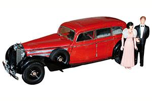 MERCEDES 770K WITH FIGUREN 1938 DARK RED