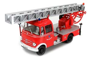 MERCEDES L319 FIRE DEPARTMENT WALSRODE WITH TURNTABLE LADDER RED *BENZ BENC МЕРСЕДЕС БЕНС МЕРСИДЕС МЕРСЕДЕЗ БЕНЦ МЕРИН МЕРС