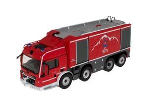 MAN TGS PROTEUS GEIE TMB FIRE DEPARTMENT RED/GRAY *МАН