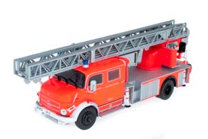 MERCEDES L1519 FIRE DEPARTMENT WITH TELESCOPIC LADDER RED/SILVER *BENZ BENC МЕРСЕДЕС БЕНС МЕРСИДЕС МЕРСЕДЕЗ БЕНЦ МЕРИН МЕРС