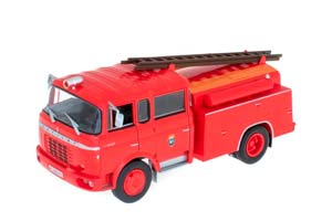 BERLIET GAK 17 FIRE DEPARTMENT MADRID RED *БЕРЛИЕ