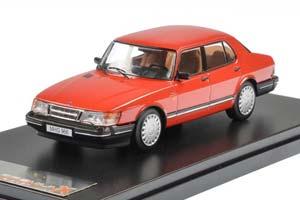 SAAB 900I 1987 RED