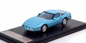 CHEVROLET CORVETTE C4 1984 METALLIC LIGHT BLUE
