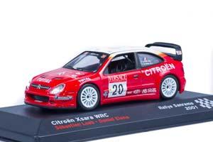 CITROEN XSARA WRC SEBASTIEN LOEB/DANIEL ELENA 2001 RALLY SANREMO