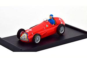ALFA ROMEO 159 GP BELGIUM WORLD CHAMPION 1951 FANGIO WITH DRIVER FIGURINE