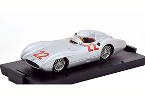 MERCEDES W196C GP FRANCE 1954 HERRMANN