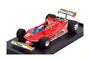 FERRARI 312 T4 GP ITALY WORLD CHAMPION 1979 SCHECKTER WITHOUT DRIVER FIGURE