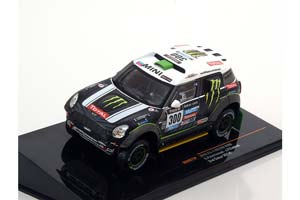 Mini ALL 4 RACING #300 S.Peterhansel-J.P.Cottret Dakar 2014