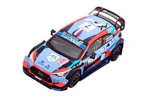 HYUNDAI I20 COUPE WRC #7 LOUBET/LANDAIS 7 МЕСТО RALLY SARDINIEN 2020