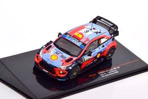 HYUNDAI I20 COUPE WRC #6 SORDO/DEL BARRIO 3 МЕСТО RALLY MONZA 2020
