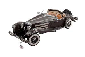 MERCEDES W29 500K SPECIAL ROADSTER 1934 BROWN
