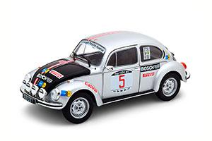 VW KÄFER 1303 WINNER RALLY ELBA 1973 SILVER BLACK WARMBOLD/HÄGGBOM