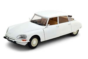 CITROEN DS 1972 WHITE