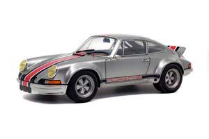 PORSCHE 911 RSR 1973 SILVER/GRAY