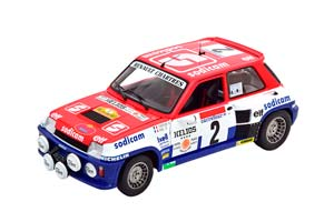 RENAULT 5 TURBO NO.2 RALLY DANTIBES 1983 THERIER/VIAL *РЕНО
