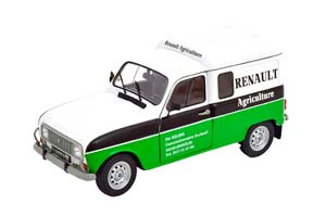 RENAULT 4 F4 RENAULT AGRICULTURE WHITE GREEN BLACK *РЕНО
