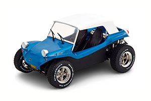 VW BUGGY MEYERS MANX 1970 BLUE METALLIC WHITE WITH SOFTTOP