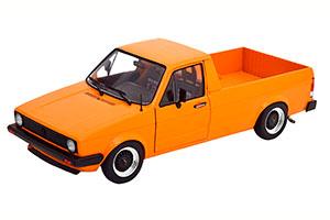VW CADDY MK1 CUSTOM 1982 ORANGE