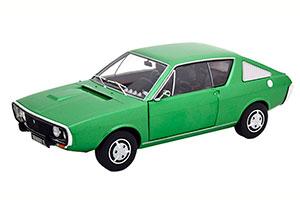 RENAULT 17 MK1 1976 GREEN METALLIC