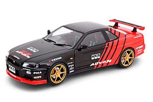 NISSAN SKYLINE GT R R34 ADVAN DRIFT 1999