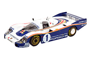 PORSCHE 956 LH WINNER 24h LEMANS 1982 ICKX, BELL #1 WITH ROTHMANS DECALS