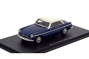 MG B ROADSTER HARD TOP 1972 BLUE/WHITE *МГ