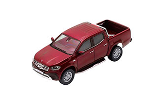 MERCEDES X-CLASS 2018 PICK-UP (BR470) DARK RED *BENZ BENC МЕРСЕДЕС БЕНС МЕРСИДЕС МЕРСЕДЕЗ БЕНЦ