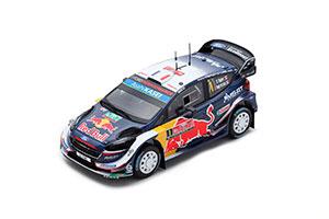 FORD FIESTA WRC #1 ПОБЕДИТЕЛЬ RALLY GREAT BRITAIN 2018 S. OGIER J. INGRASSIA *ФОРД ФОРТ
