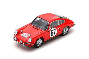 PORSCHE 911S #57 RALLY MONTE CARLO 1966 R. BUCHET J. JO SCHLESSER *ПОРШЕ ПОРШ