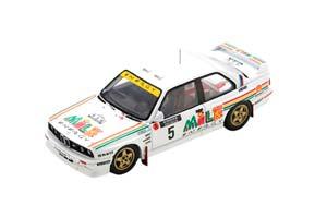 BMW M3 E30 #5 RALLY 1000 LAKES FINLAND 1988 ARI VATANEN/BRUNO BERGLUND