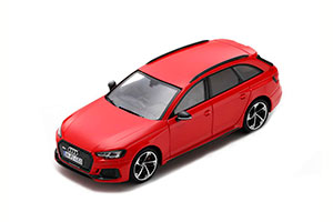 AUDI RS 4 2018 RED