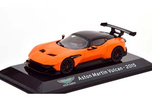 ASTON MARTIN VULCAN 2015 ORANGE/BLACK