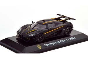 KOENIGSEGG ONE:1 2014 BLACK