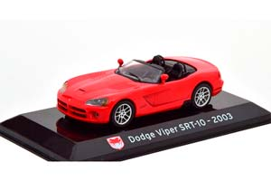 DODGE VIPER SRT-10 CONVERTIBLE 2003 RED