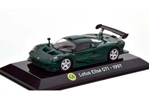 LOTUS ELISE GT1 1997 DARK GREEN
