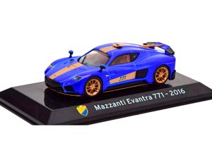 MAZZANTI EVANTRA 771 2016 BLUE METALLIC/GOLDEN
