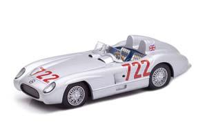 MERCEDES 300SLR # 722 WINNER MILLE MIGLIA 1955 STILRING MOSS/DENIS JENKINSON (AVERAGE SPEED 160 KM/H)