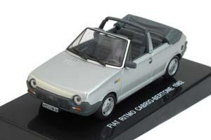 FIAT RITMO 31 CABRIO-BERTONE 1982 SILVER