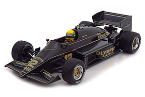 Lotus Renault 97T Winner GP Portugal 1985 JPS Senna incl. Decals With Detailliertem Engine