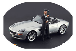 Figurine James Bond 007 Pierce Brosnan High End Figurines For 1/18 Models New 2016