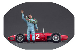 FIGURINE PHILL HILL FERRRARI HIGH END FIGURINES FOR 1/18 MODELS NEW 2017