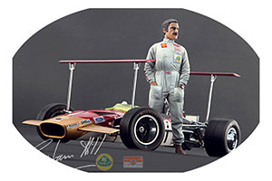 FIGURINE GRAHAM HILL HIGH END FIGURINES FOR 1/18 MODELS NEW 2017