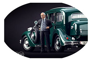 FIGURINE AUGUST HORCH (12 OCTOBER 1868-3 FEBRUARY 1951) HIGH END FIGURINES FOR 1/18 MODELS NEW 2020 | ФИГУРКА 1:18 АУГУСТ ХОРЬХ *ФИГУРКА ФИГУРИНА ФИГУРА